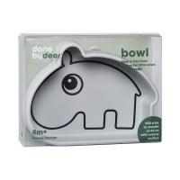 Skål - Silicone Stick & Stay Bowl Ozzo Grey