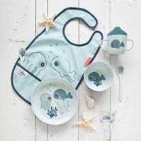 Skål - Yummy mini bowl Sea friends Blue