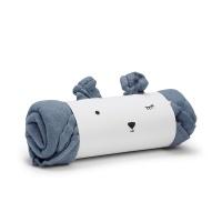 Bamboo Muslin Blanket - Tender Blue