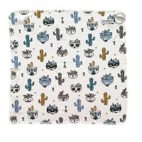 Filt - Snuttefilt Kaktus 40x40