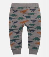Byxa med dinosaurier - grå