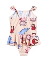 Baddräkt - Dolphins skirt swimsuit Multi