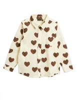 Blus - Hearts woven shirt