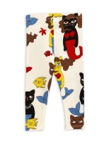 Leggings - Cat Mermaid Offwhite