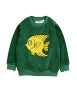 Tröja - Fisch Terry Green