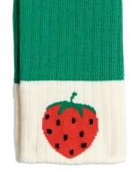 Leggings - Ribbed strawberry green