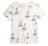 T-shirt - Sailing boats white