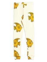 Leggings - Fish aop Offwhite