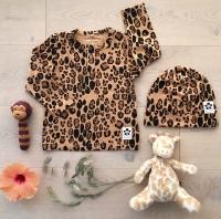 Tröja Basic leopard grandpa (Tencel)