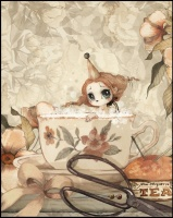 Poster The Tea Bath - 40x50