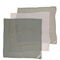 3-pack muslin filtar - Limestone