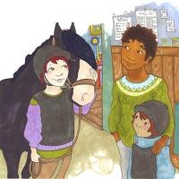 Malva och hästarna