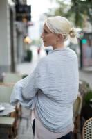 Amningsscarf-Grå