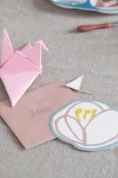 Kort med kuvert Singing Birds
