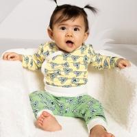 Byxa baby Koala Soft Pea