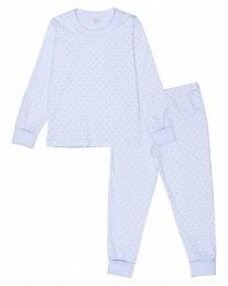 Pyjamas Saturday blå/silver 2-delar