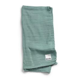 Bamboo Muslin Blanket - Mineral Green