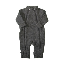 Overall/jumpsuit grå merinull