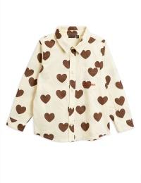 Blus - Hearts woven shirt