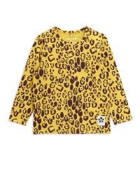 Tröja - Leopard grandpa yellow (tencel)