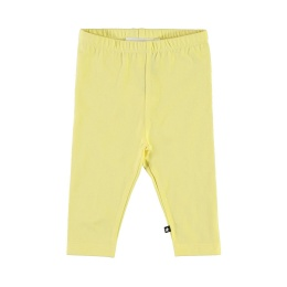 Leggings Nette solid Pale Lemon