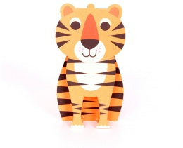 Tiger - Kort med kuvert