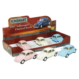 VW Bubbla -67 stor pastell skala 1:24