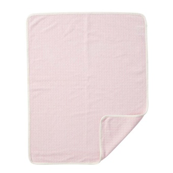 Chenillefilt - Rumba baby - rosa