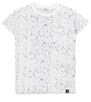 T-shirt Pearl grey melange