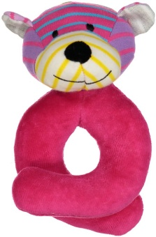 Skallra - Bear Rattle Mix Rosa