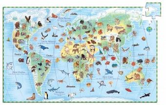Pussel, plansch och häfte - Worlds animal