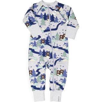 Pyjamas baby - Skog, bambu