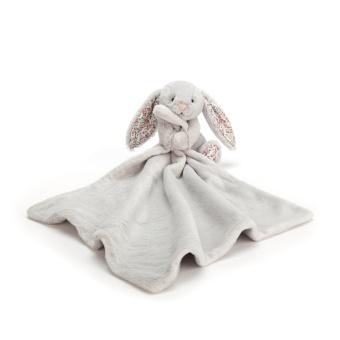 Gosedjur med snuttis - Blossom Silver Bunny Soother