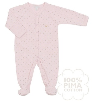 Overall, Saturday Simplicity Footie, rosa/guld