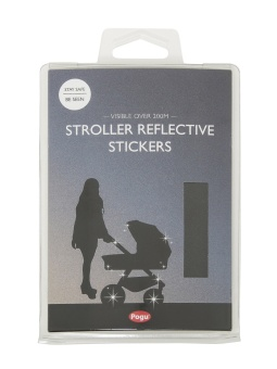 Reflex, barnvagnsreflex svart
