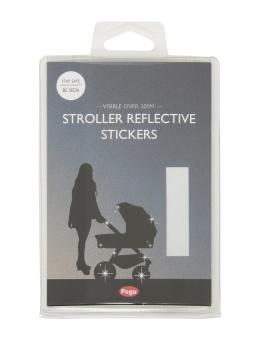 Reflex, barnvagnsreflex silver