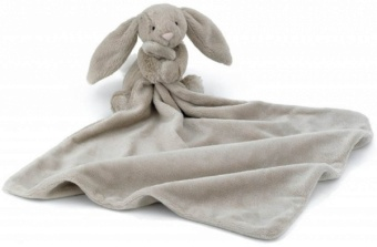 Gosedjur med snuttis - Bashful Beige Bunny Soother
