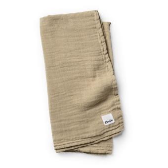 Bamboo Muslin Blanket - Warm Sand
