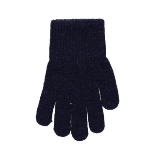 Vante - fingervante mörkblå