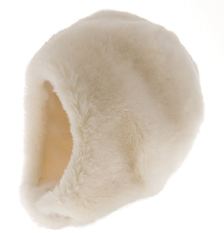 Mössa, Birgitta Jr. Faux Fur White