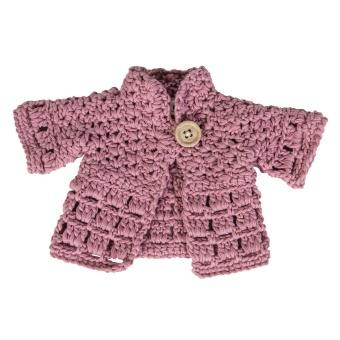 Dockkläder jacka pastell rosa