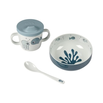 Matset - First meal set Sea friends Blue