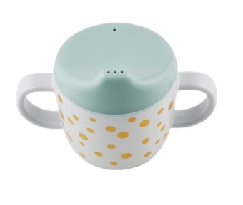 Pipmugg - Happy dots, gold/blue