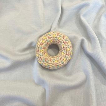 Donut med strössel - virkad