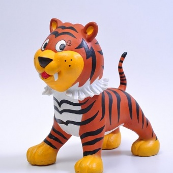 Naturgummi djur - Tammy Tiger