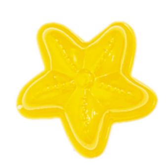 Sandform i metall -  Sjöstjärna