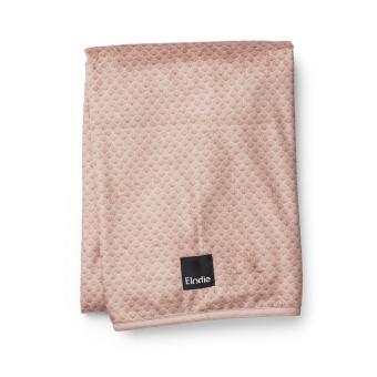 Filt Pärlsammetsfilt Pink Nouveau