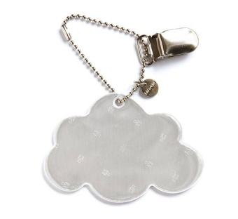 Reflex med clips - white cloud