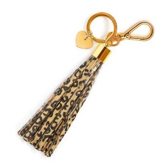 Reflex - tassel leopard print