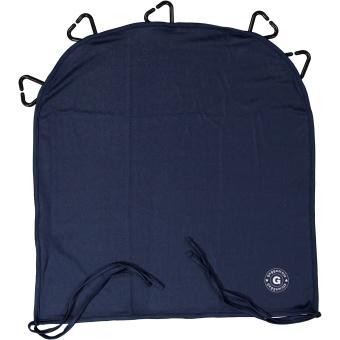 UV-barnvagnsgardin blå